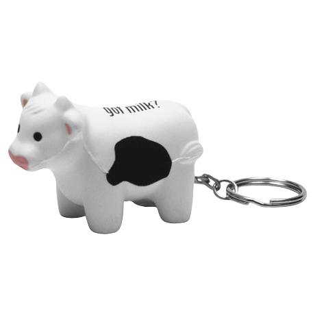 Milk Cow Stress Reliever Key Chain