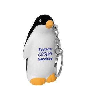 Penguin Stress Reliever Key Chain