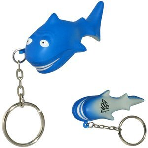 Shark Stress Reliever Key Chain