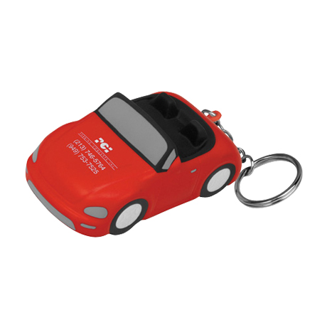 Convertible Car Stress Reliever Key Chain
