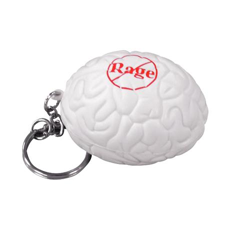 Brain Stress Reliever Key Chain