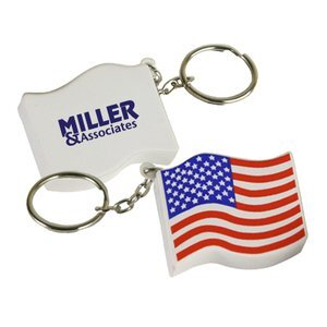 US Flag Stress Reliever Key Chain