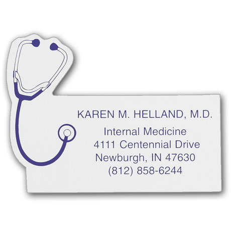 Stethoscope Business Card Magnet