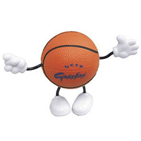 Basketball Figure Stress Reliever