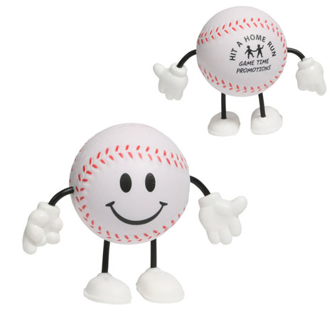 Baseball Figure Stress Reliever