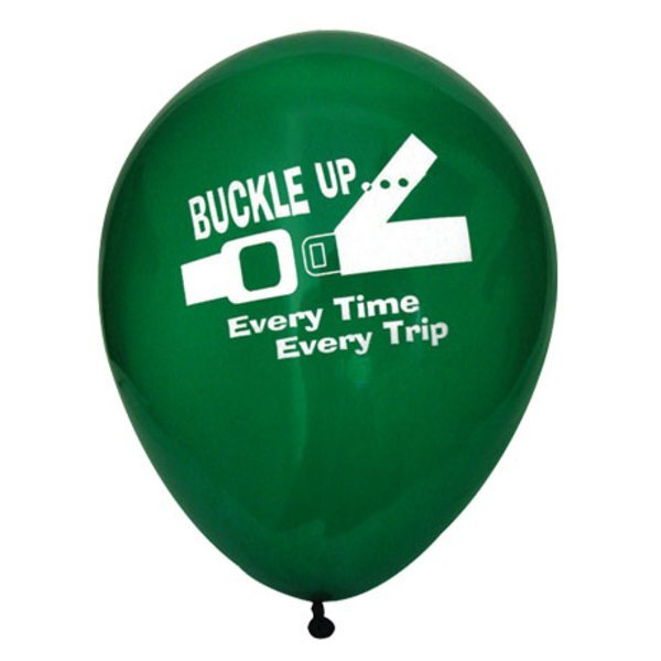 Buckle Up Every Time Balloon, Stock