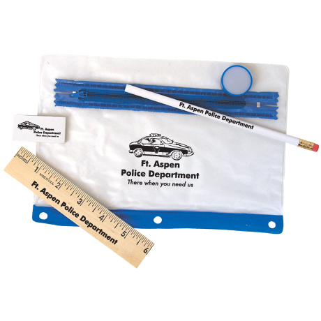 Notebook Mate School Kits II w/ Wooden Ruler