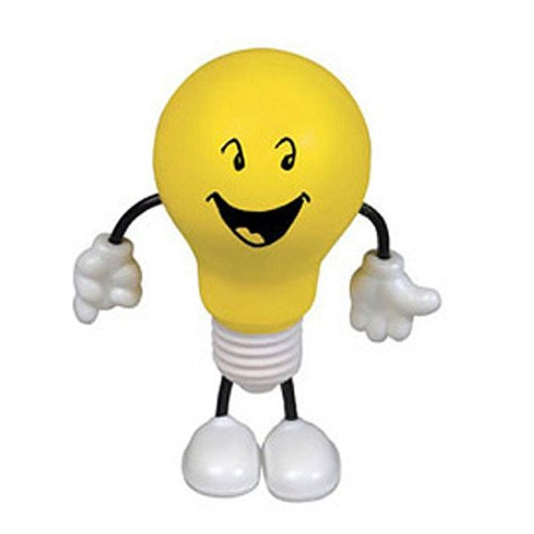 Light Bulb Figure Stress Reliever