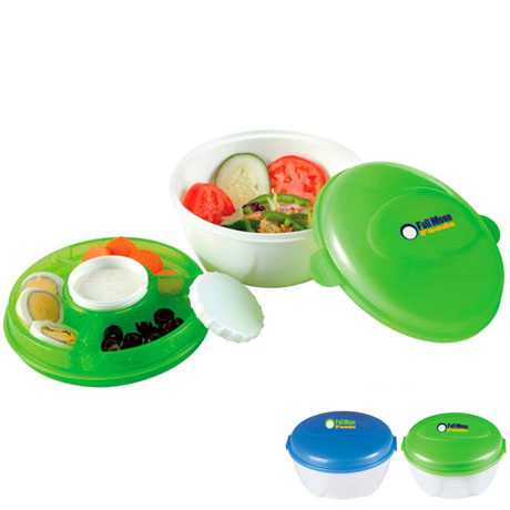 Cool Gear®  Salad to Go Freezer Gel Food Container