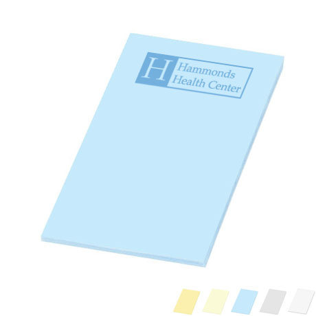 "Post-it® Custom Printed Notes, 4"" x 6"", 50 Sheets"