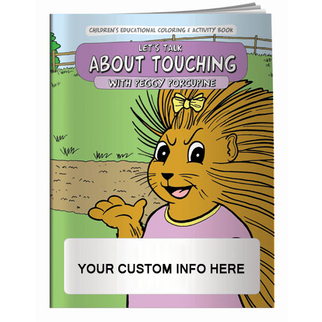 Let's Talk About Touching Coloring & Activity Book