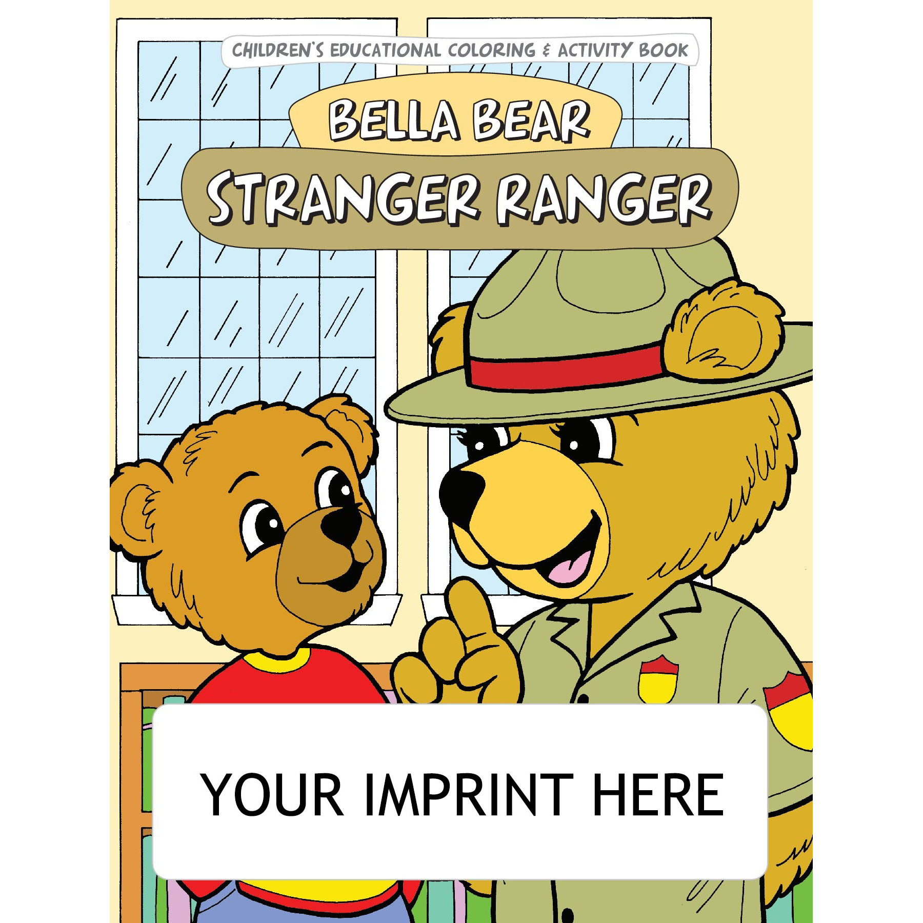 Stranger Ranger Coloring & Activity Book