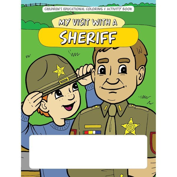 My Visit with a Sheriff Coloring & Activity Book, Stock