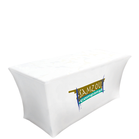 Ultrafit™ Table Throw, Full Color Front