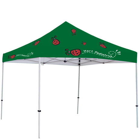 ShowStopper™ Deluxe 10' Square Event Tent, Full Color