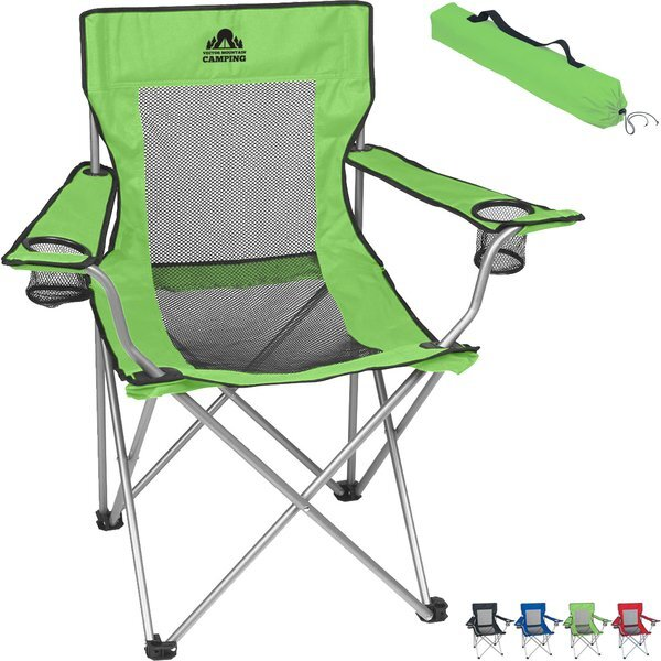 Beach Time Mesh Folding Chair
