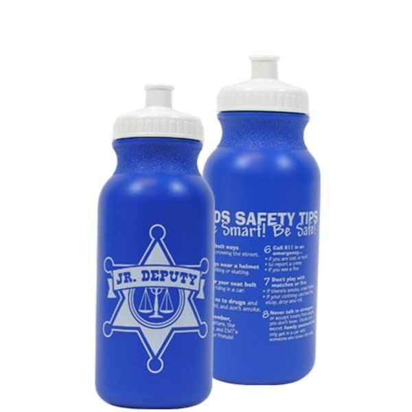Jr. Deputy Bike Bottle 20oz., Stock