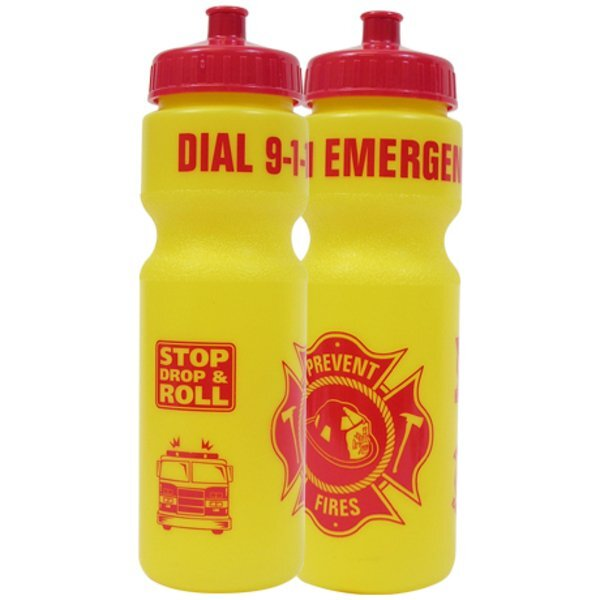Dial 9-1-1 Emergency Bike Bottle 28oz., Stock