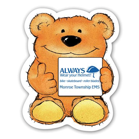 Thumbs Up Bear Magnet