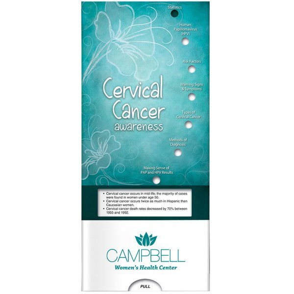 Cervical Cancer Awareness Pocket Sliders™