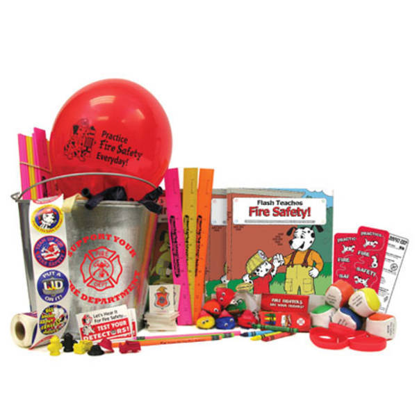 Bucket of Fire Safety Fun, Stock