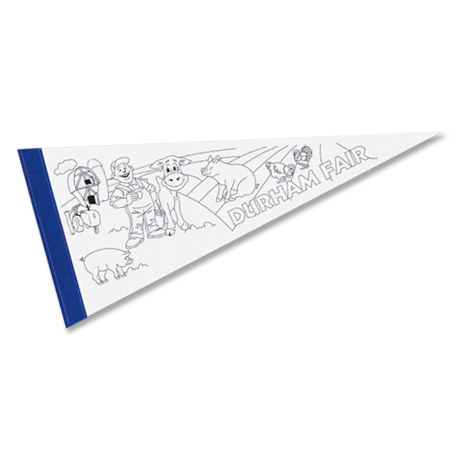 "Color-Me Pennant, 8"" x 18"""