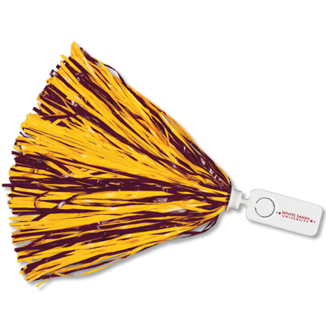Pom - Rectangle Handle with Token - 500 Streamers