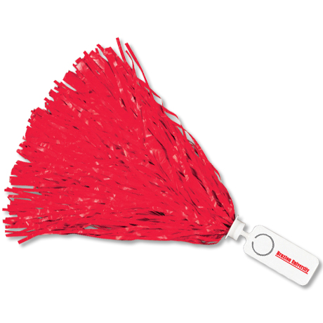 Pom - Rectangle Handle with Token - 1000 Streamers