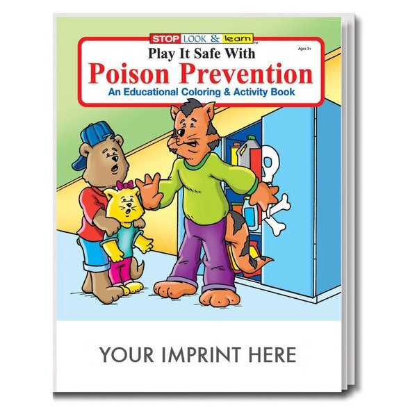 Poison Prevention Coloring & Activity Book