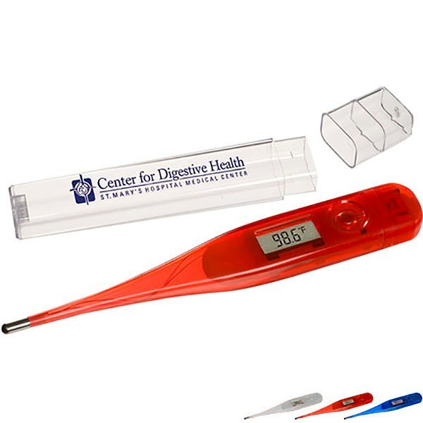 Oral Digital Thermometer w/ Storage Case