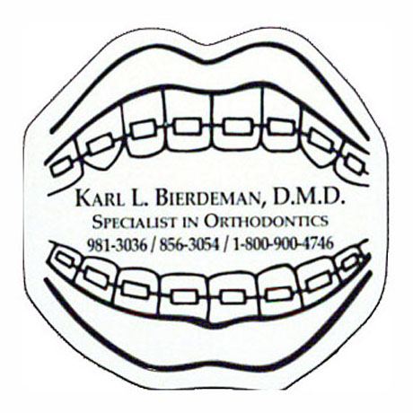 Mouth With Braces Magnet