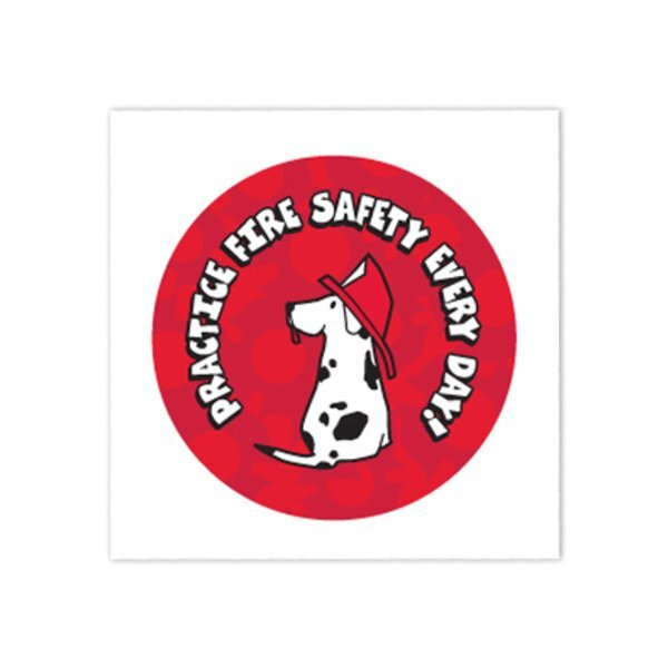 Practice Fire Safety Temporary Tattoo, Stock - Closeout, On Sale!