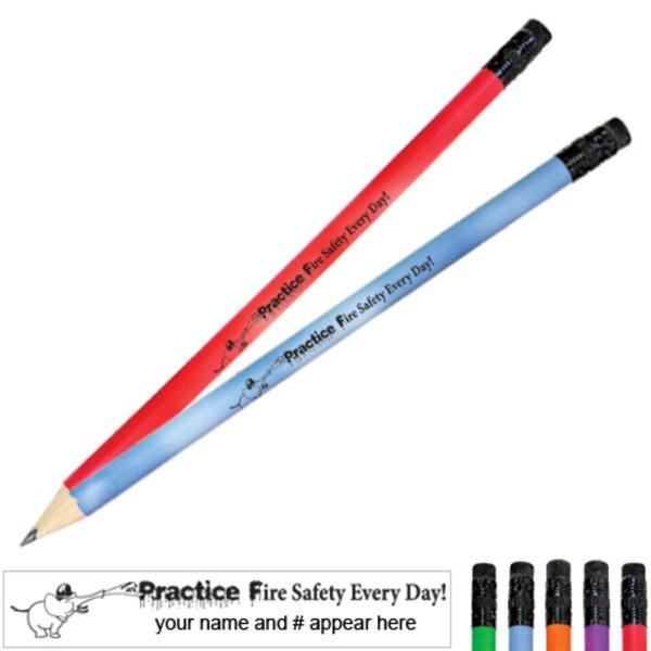 Practice Fire Safety Every Day Mood Pencil