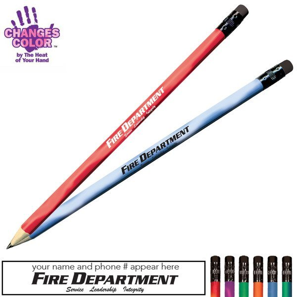 Fire Department Mood Color Changing Pencil