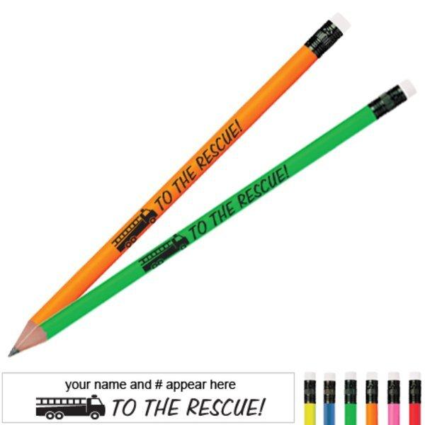 To the Rescue Neon Pencil