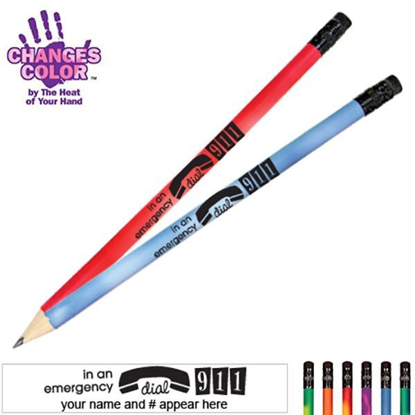 In An Emergency Dial 911 Mood Color Changing Pencil