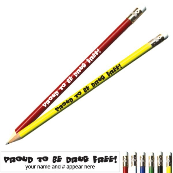 Proud To Be Drug Free Pricebuster Pencil
