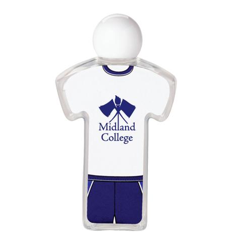 Uniform Hand Sanitizer Gel - Tee Shirt, 2.19oz.