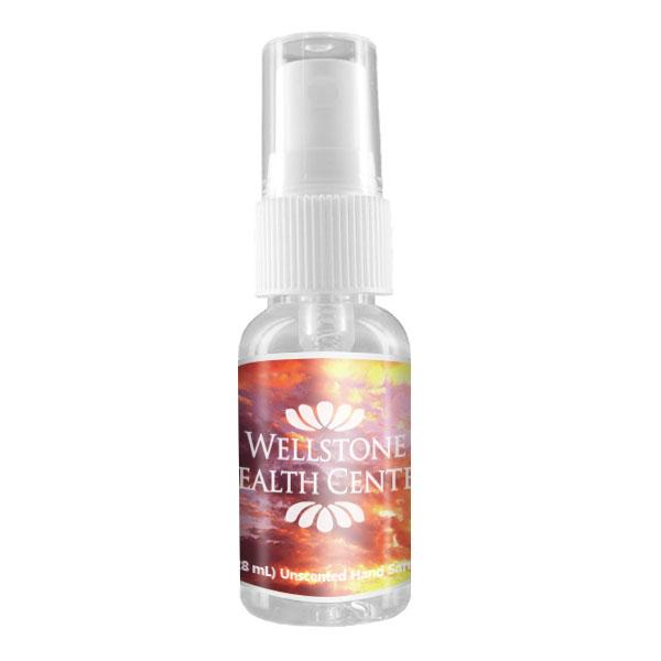 Antibacterial Hand Sanitizer Spray Bottle, 1oz.