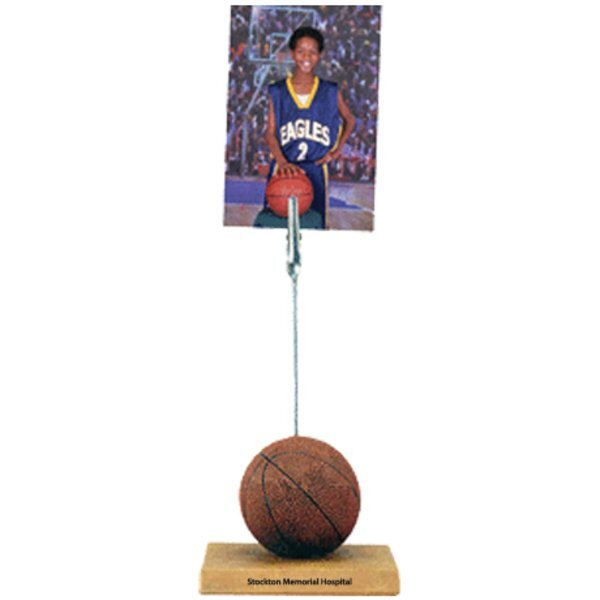 Sports Memo & Photo Clip, Basketball