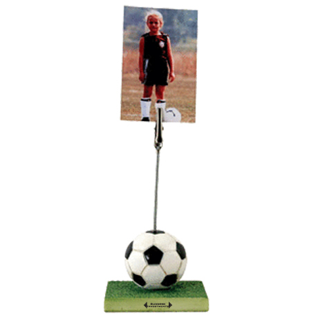 Sports Memo & Photo Clip, Soccer