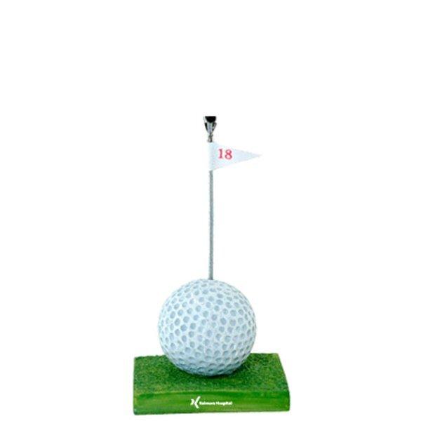 Sports Memo & Photo Clip, Golf