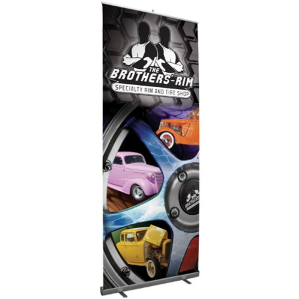 "Paramount Retractor™ Banner Display Kit, 122-1/4""H"