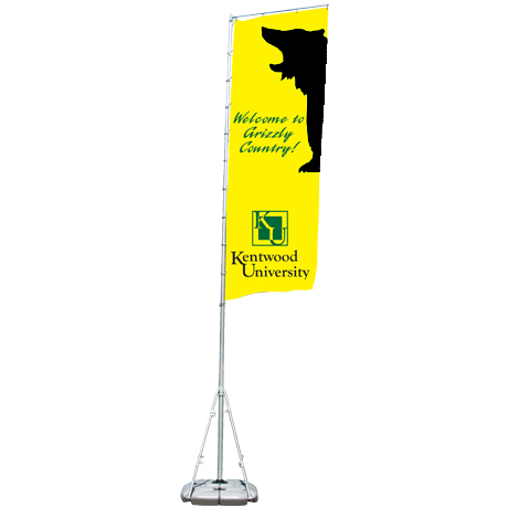 Summit™ Outdoor Banner Display Kit, Double-Sided