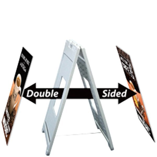 Sidewalk Messenger™ Outdoor Poster Display Kit, Double-Sided