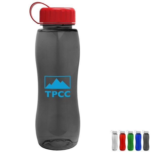 Slim Grip Tritan™ Bottle, 25oz. - Tethered Lid