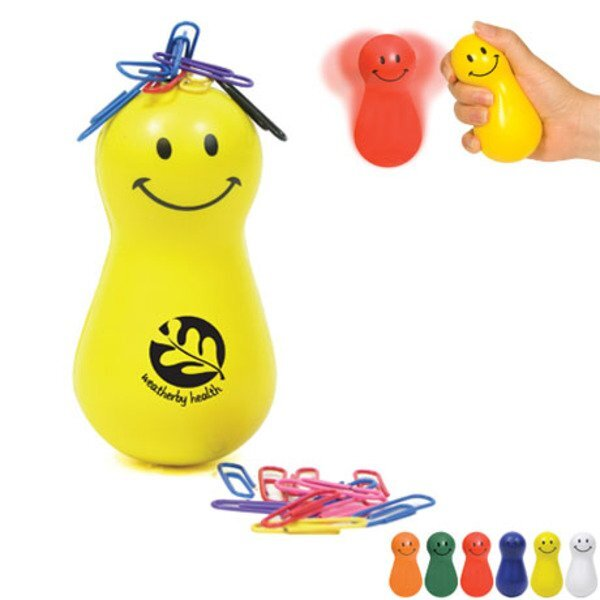 Mr. Wobbles Stress Reliever & Paper Clip Holder