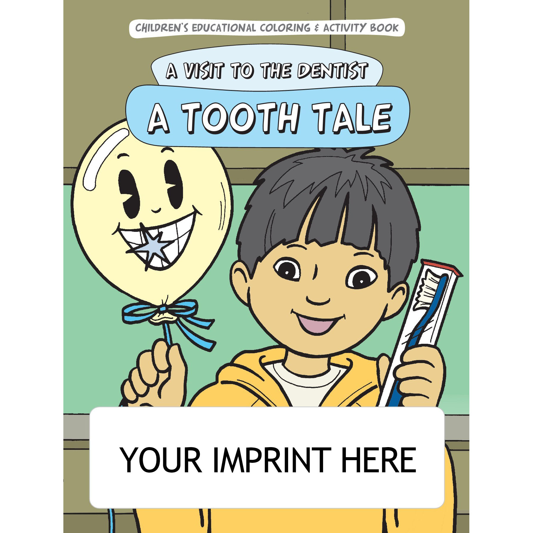Visit to the Dentist Coloring & Activity Book