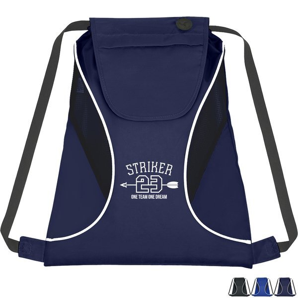 Polyester Sports Pack with Mesh Sides