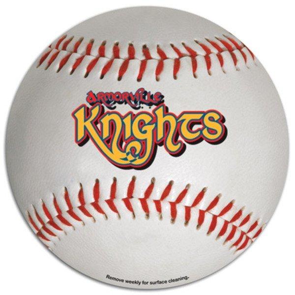 Baseball Car Sign Magnet